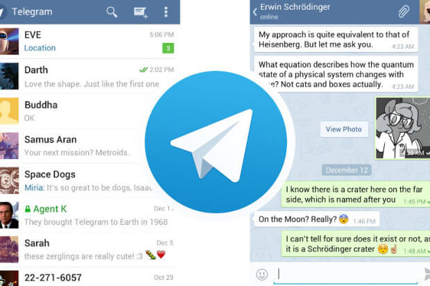 telegram-messenger-app-screen